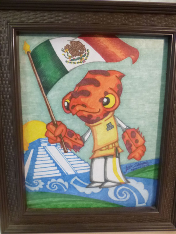 This picture missing An unknown artist from Mexico